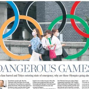 トロントの朝 7月 9日 そんな状態でもオリンピックやるの!?