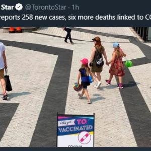 トロントの午後 7月 31日 連日感染者が増えている!?