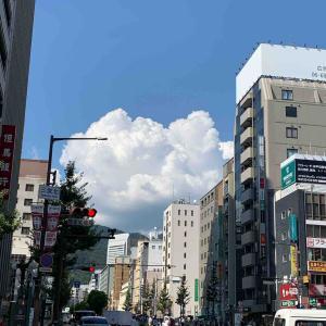 空~夏のあがき・THE 入道雲...三ノ宮