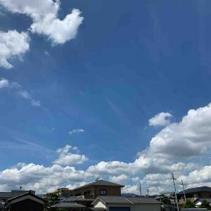 空~残暑大いばり・THE 入道雲 武庫之荘