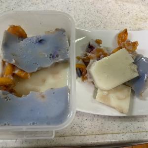 豆乳フルーツゼリーを作ってみたら失敗した話