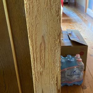 猫の爪研ぎと化した柱をどうにかする話