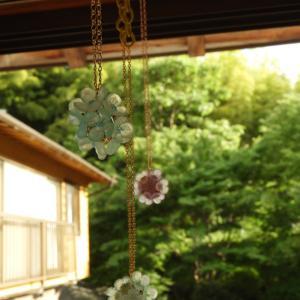 紫陽花アクセサリー