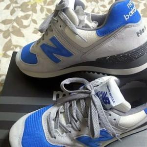 ニューバランスのカスタマイズ靴ができあがりました!