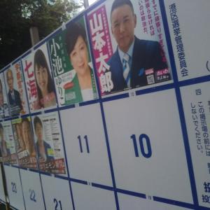 ★都知事選ポスター