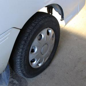 タイヤ交換!!