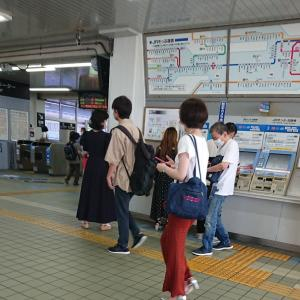 朝霧駅に ・・・ 大蔵海岸