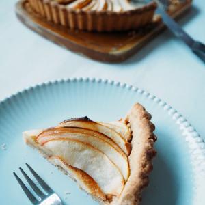 大失敗!ノンバターりんごの米粉タルト。。。