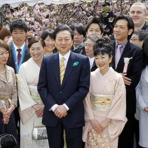 旧民主党政権下の「桜を見る会」