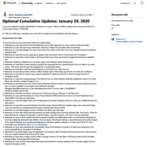 Windows10の不具合修正で新たな問題