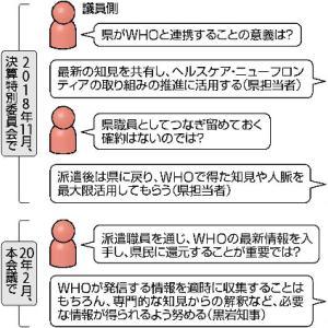 税金の無駄遣い?神奈川県が計1億円超を支出しWHOに派遣した女性 自己都合で退職し転職