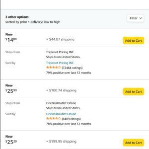 Amazon.comでASUS Z390-Aに該当する14pinのTPM モジュールを見つけたが、送料が・・・