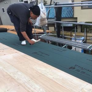 屋根の断熱材とルーフィング