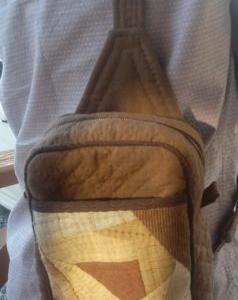 ♪ 生徒さんの作品 ご主人の為のバッグ ♪