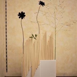 マミフラワー研究科「木の構成Ⅳ(割り箸)