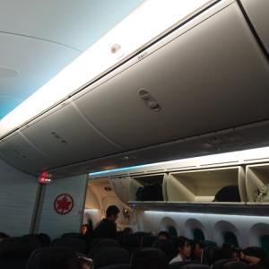 エアカナダの機内サービス