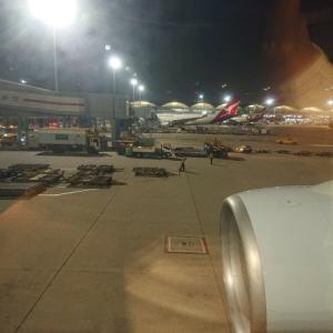 キャッセイドラゴン航空にてクアラルンプールへ