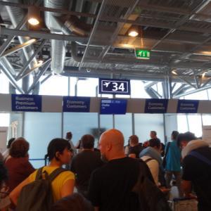 ヘルシンキ・ヴァンダー国際空港から帰国