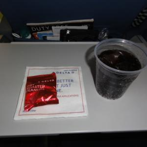 デルタ航空の機内サービス