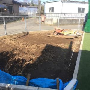 重機搬入が難しい 掘削作業 2日目 茨城県 守谷市