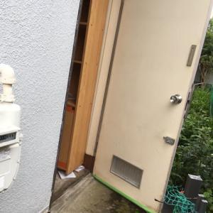 防犯対策 勝手口ドア 交換工事 茨城県 牛久市