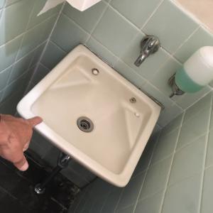 定休日に 洗面ボールを交換 設備工事 茨城県 取手市