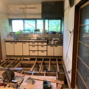 火災現場 木工事 追い込み作業 茨城県 龍ケ崎市