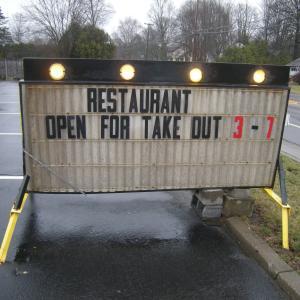 店内飲食禁止ならテイクアウトがあるさ②