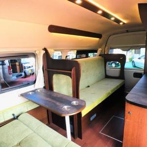 半常設ベッド&マルチルーム「ベッセルJ」の展示車ができました!!