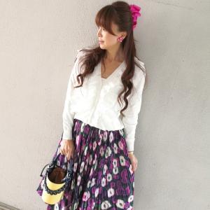 Lovely・お洒落フラワースカート