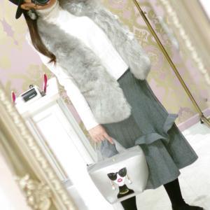 Lovely ハイネック セーター・ホワイト