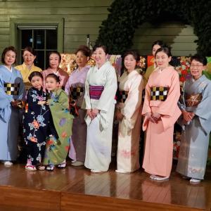 日本舞踊の発表会
