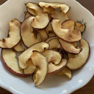 りんごチップス作ってみたよ~♪