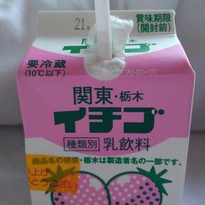 これ、好きなんです、「 関東・栃木イチゴ 」。