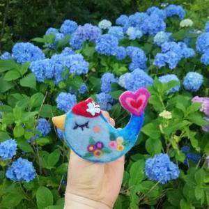 紫陽花の散歩みち♪