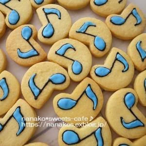 8分音符のクッキー