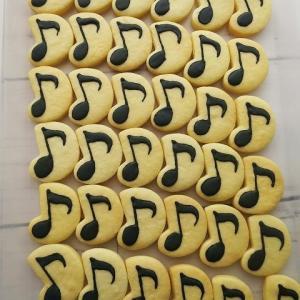 音符のクッキー