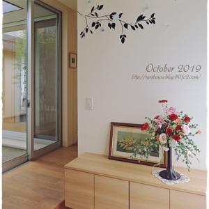 ■10月の玄関と回廊 -2019-