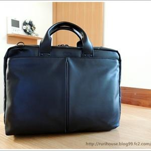 ■夫のビジネスバッグを新調しました 0120
