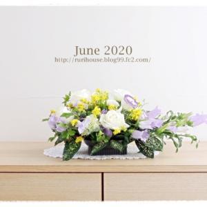 ■6月の玄関と回廊 -2020-
