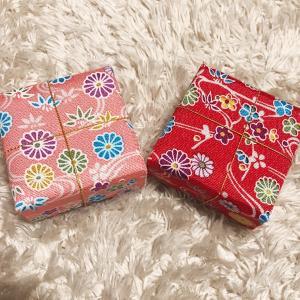 幻のKALDI購入品 布箱おはじき