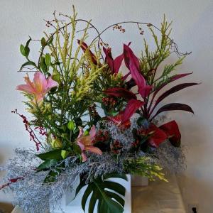 Xmasの生け花