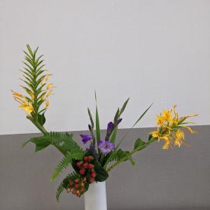 二つの花器の距離