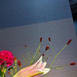 花材は秋バージョン