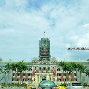 台湾総統府が夜空に映える!一足お先に2019国慶節点灯式