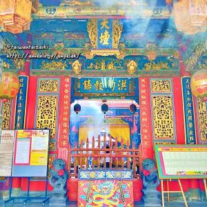 台湾首廟天壇天公廟 台南観光【台湾旅行】