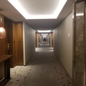 ロッテホテルエグセワクティブタワー~お部屋①~リビング&ベッドルーム