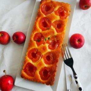 姫りんごのアーモンドケーキ♪