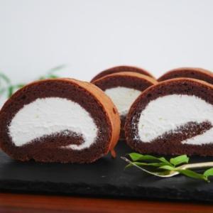 チョコロールケーキ♪