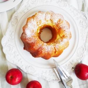 姫りんごのケーキ♪